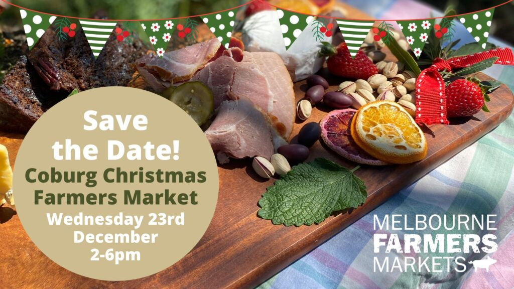 photo of christmas food with details repeated in text below